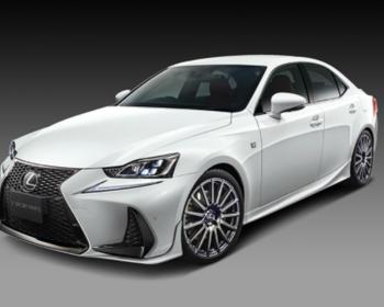 TRD - Lexus IS F Sport Aero Parts