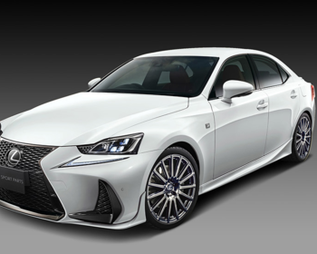 TRD - Lexus IS F-Sport Aero Parts