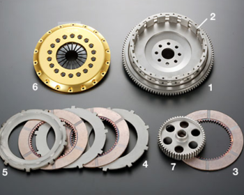 OS Giken - Repair Parts - R Series Clutch