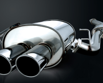 Reimax - Stainless Muffler for Skyline GTR - Dual