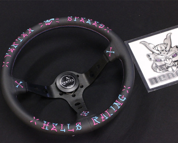 Car Make T&E - Vertex - Steering Wheel - VERTEX SPEED - 350mm