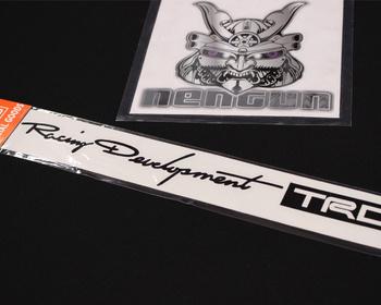 TRD - Racing Development TRD Sticker