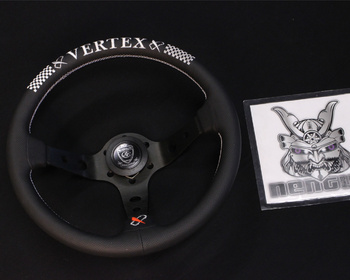 Car Make T&E - Vertex - Steering Wheel - VERTEX CHECKER