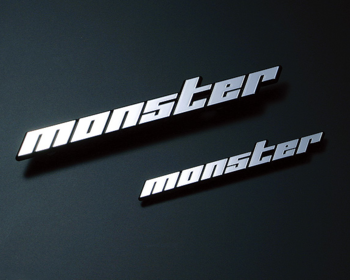 Monster Sport - Plated Emblem