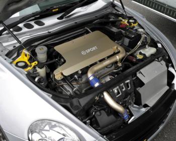 D Sport - Aluminum Engine Cover