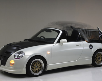 Take Off - Copen One Touch Remote Control Roof Kit