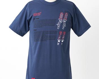 STI - STI Sports Parts T-shirt - Suspension