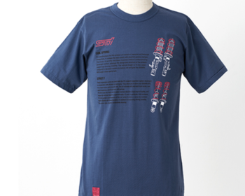 STI - STI Sports Parts T-Shirt - Suspension