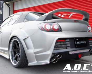 Auto Craft Evolution - Rear Wide Fender Set for RX-8