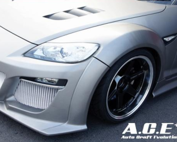 Auto Craft Evolution - Front Wide Fender Set for RX-8