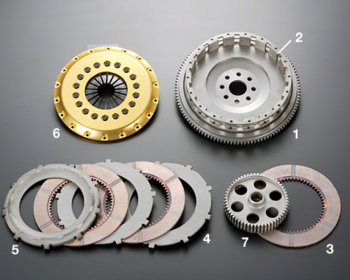 OS Giken - R Series Clutch Kit