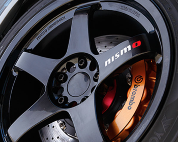 Nismo - LMGT4 Spoke Stickers