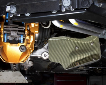 Top Secret - Carbon Brake Air Guide for R35