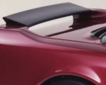 Back Yard Special - Real Carbon Made Rear Flap for NSX