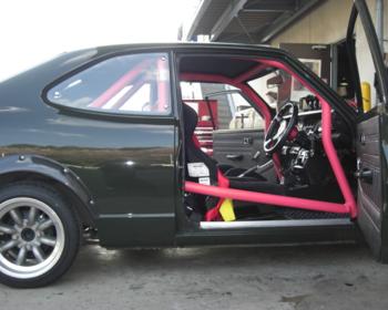 Saito Rollcage - Corolla TE27 Roll Cage
