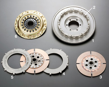OS Giken - Overhaul Kit - TS Series Clutch