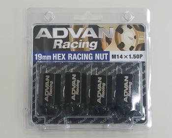 Yokohama Wheel - ADVAN Racing M14x1.5P 19mm HEX Racing Nuts