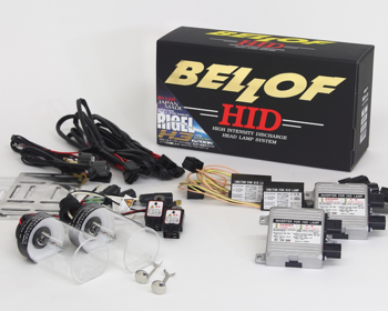 BELLOF - HID Full Kit RIGEL X3 System