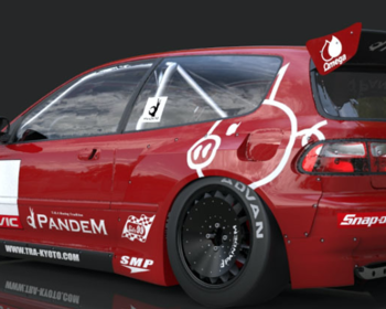 Rocket Bunny - Civic EG Rear Wing