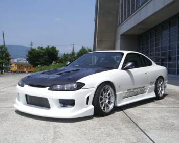 Garage Mak - Front Bumper Type 4 - S15