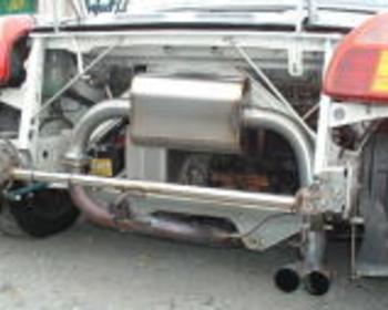 Techno Pro Spirit - MR-S Titanium Muffler