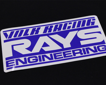 RAYS - RAYS ENGINEERING Sticker