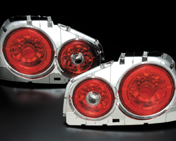 Clear World - R34 Skyline 2Dr LED Tail Lamps