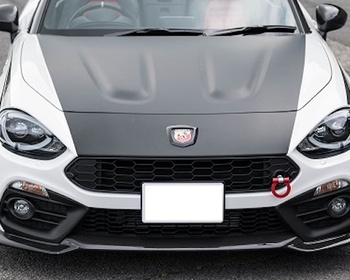 Three Hundred - Carbon Front Lip Spoiler ABARTH 124 Spider