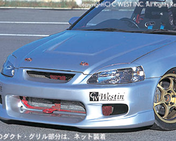 C-West - Honda CIVIC EK (Late) Front Bumper