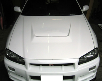 East Bear - R34 FRP Bonnet