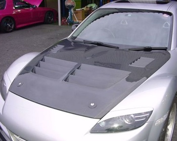 R Magic - RX-8 Cooling Bonnet