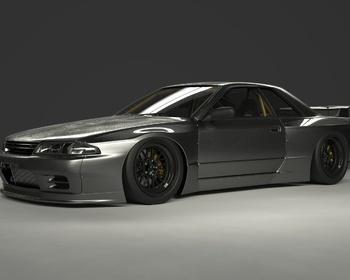 Rocket Bunny - Nissan R32 GT-R Wide Body Kit