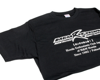 M and M Honda - T-Shirt Black