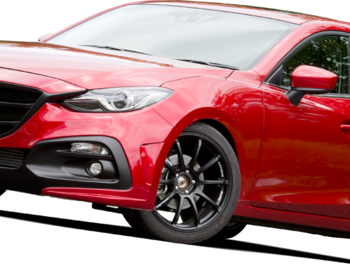 Knight Sports - Front Bumper Spoiler for Axela (BM)