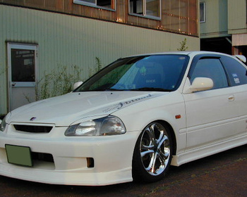 J-Blood  - Civic EK9 Front Bumpers