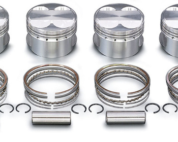 Toda - 4AG (4 valve) High Comp Forged Piston KIT