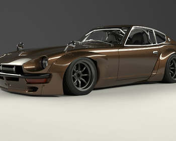 Pandem - Nissan Fairlady Z / 240Z Wide Body Kit