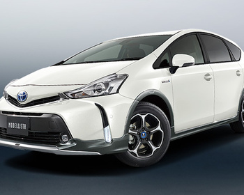 Modellista - Cross Style Aero Kit for Prius Alpha