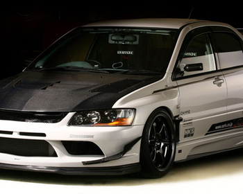 Varis - Lancer Evolution IX/IX MR 09Ver. Aero Parts