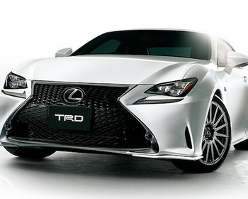 TRD - Lexus RC F-Sport Parts