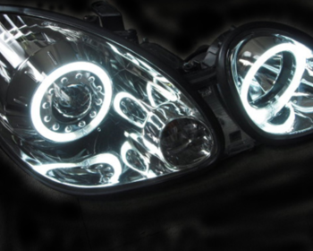 Clear World - Ring Projector Head Lamps