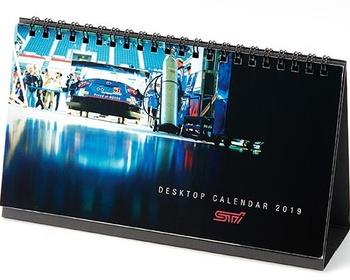 STI - 2019 Motorsports Desk Calendar
