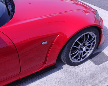 Car Garage Amis - S2000 FRP Front Wide Fenders