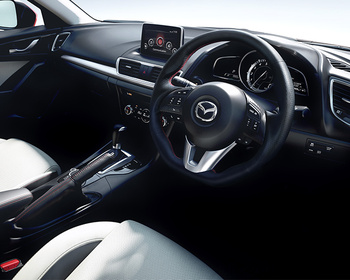 Kenstyle - Steering Wheel - Mazda Axela