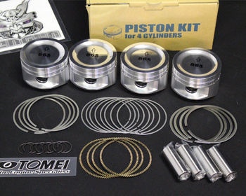 Tomei - SR20DET Forged Piston Kit Replacement Parts