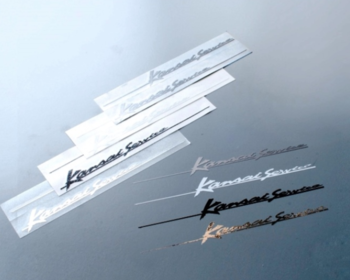 Kansai Service - Pinstripe Emblem & Stickers