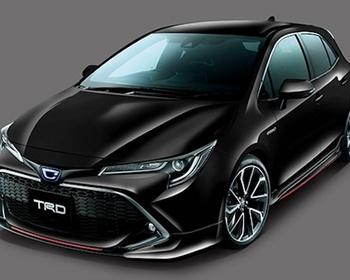 TRD - Corolla Sport Aero Parts