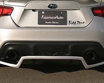 Fujimura Auto - Rocket Dancer Rear Diffuser for 86/BRZ