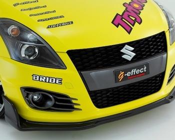 Tryforce - Front Lip Spoiler PRO Carbon