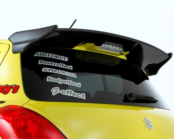 Tryforce - Rear Wing Spoiler PRO Carbon